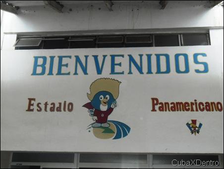 Entrada al Estadio Panamericano