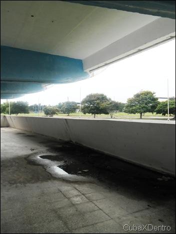 Pasillos laterales del Estadio Panamericano