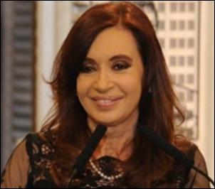 Télam Buenos Aires 27/12/2012 La presidenta Cristina Fernández de Kirchner, encabeza un acto en la Casa de las mujeres del Bicentenario, en el que dejó inaugurados los 6 tramos de la Autovía 14.Foto: Julián Alvarez/Télam/jcp