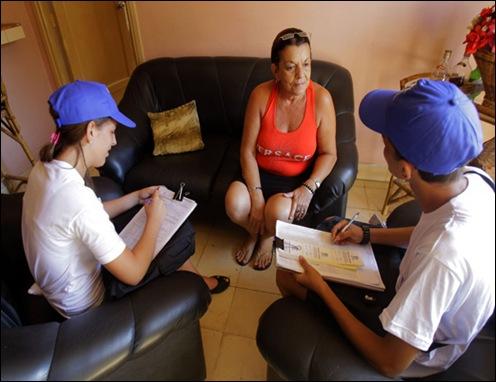 Censo de Población y Vivíendas. Cuba-2012. Foto: Ismael Francisco/Cubadebate.