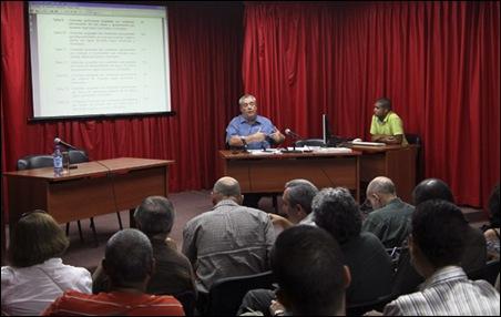 Juan Carlos Alfonso Fraga Director Nacional del Censo de Población y Viviendas. Foto: Ismael Francisco/Cubadebate.