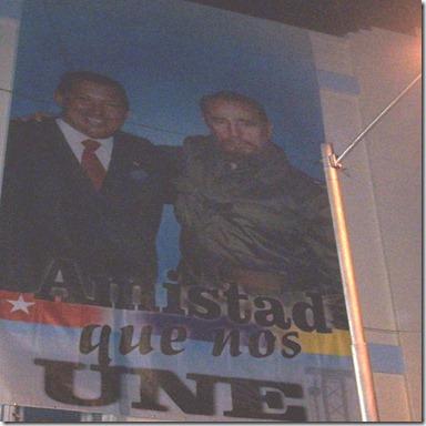 Chávez y Fidel 2