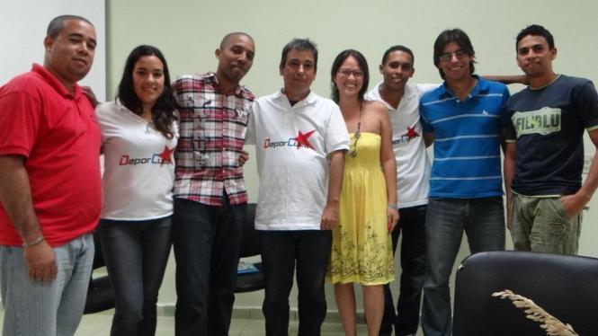 Renier González comparte con ALE.com