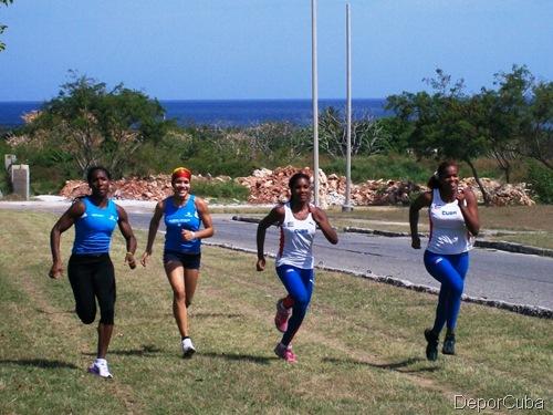 Cuba Pole Vault women team