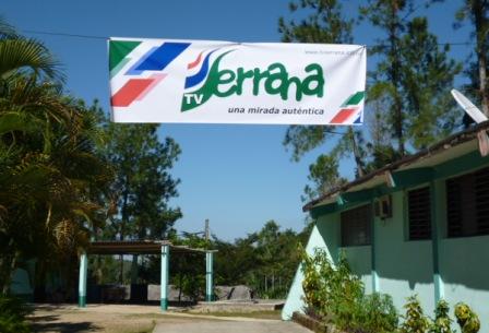 Sede Televisión Serrana. Foto: Autor