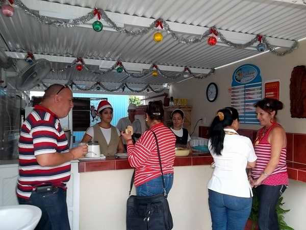 Cafetería cubana. Foto: Correo del Orinoco