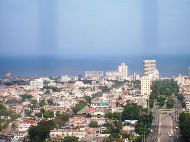 Mirando La Habana. Esta desde el Mirador de la Plaza de La Revolución. Foto: Andy Bermellón