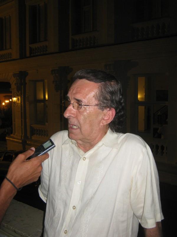 Rafael Carralero, Jefe de la delegación mexicana a la Fiesta del Fuego. Foto: El autor.