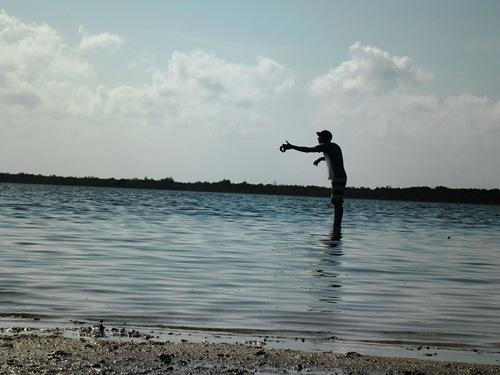 08- pescando