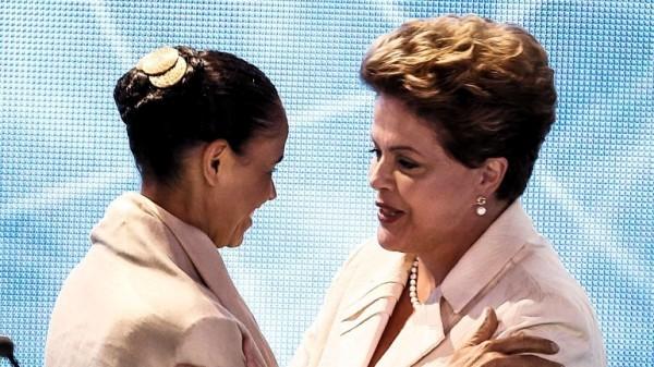 Dilma y Marina Silva