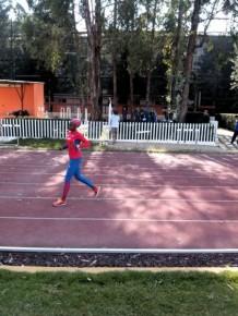 Delegación cubana entrenando en Centro Deportivo Olímpico Mexicano