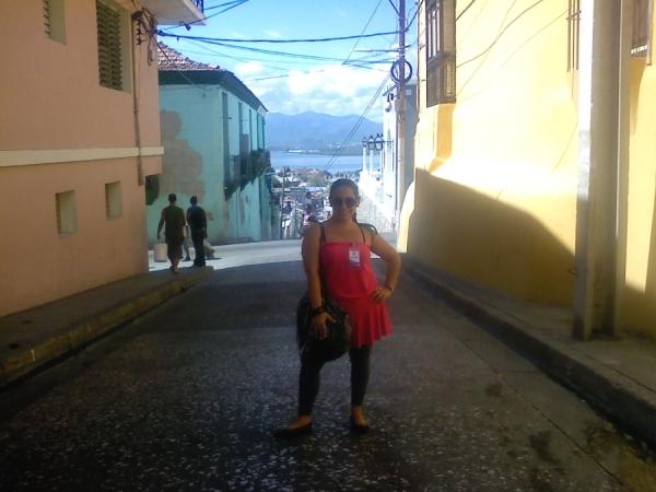 Joyce Suárez Fabré en Santiago de Cuba
