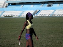 Últimos entrenamientos en el Estadio Panamericano