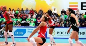 Yumilka Ruiz en la Super Liga de Rusaiga de Rusia