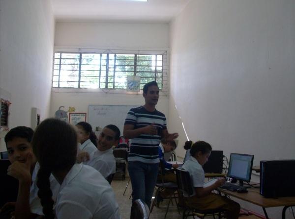 Mis grupos en la Secundaria Basica 14 de junio, en el poblado del El Cano