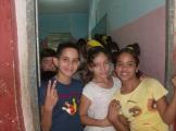 Mis grupos en la Secundaria Básica 14 de junio, en el poblado del El Cano