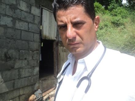 Dr. Orlando Jimenez de terreno