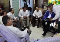 Fidel y el encuentro con Los Cinco