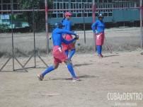Preparación de la preselección nacional de softbol femenino en La Habana
