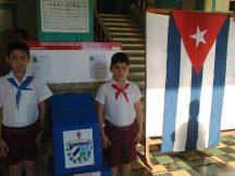 Los pioneros cubanos verdaderos protagonistas de las elecciones parciales