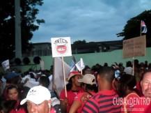 Desfile en La Habana por el Primero de Mayo (2015)