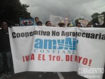 Los trabajadores vinculados a las nuevas formas de gestión económica también apoyaron la convocatoria de la Central de Trabajadores de Cuba.