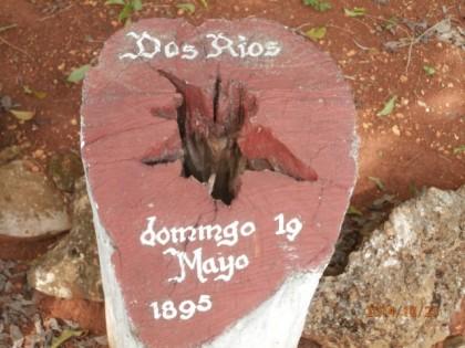 Representación de los campamentos en los que estuvo Mari durante la Guerra Necesaria