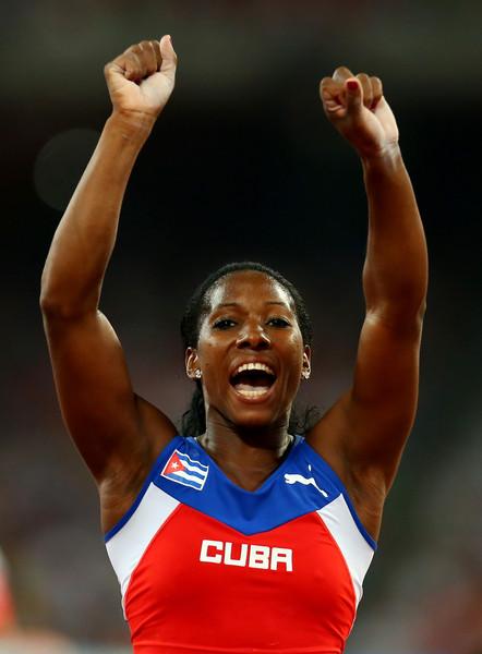 Yarisley Silva campeona mundial en salto con pértiga en Beijing 2015