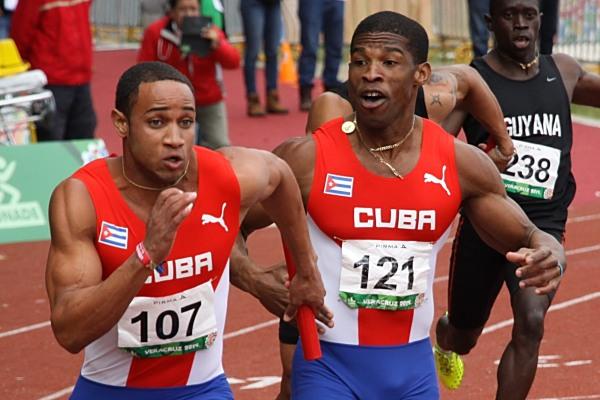 Atletismo Relevo 4 x 100 M 01