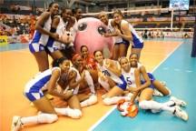 El joven equipo cubano en la Copa del Mundo de Voleibol Femenino