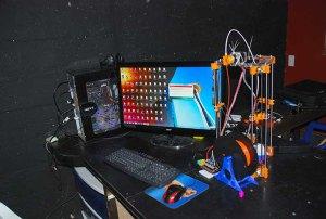 Piezas elaboradas en CREARTE 3D en Nuevo Vedado