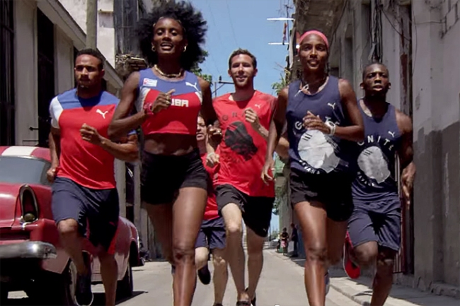 puma-sends-cuban-american-sprinters-on-a-colorful-dash-through-havana-0
