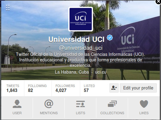 UCI verified account