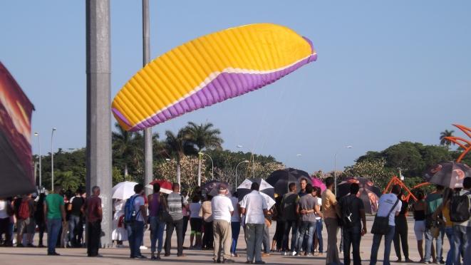 Festival Aéreo Salto por Fidel en la Universidad de Ciencias Informáticas