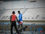 Leonel suarez y Manuel Gonzalez durante el entrenamiento_Cubaxdentro