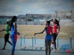 Mabel Gay trabaja con el grupo de salto triple _CubaxDentro