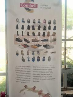 Las confecciones de calzado en el pabellón del Grupo Empresarial de la Industria Ligera