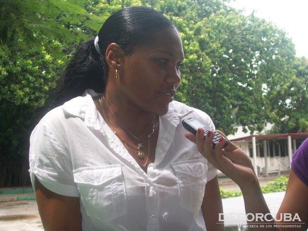 Denia Caballero en entrevista a DeporCuba_CubaxDentro