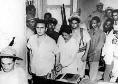 Fidel Castro después del Asalto al Cuartel Moncada