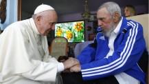 El Papa Francisco visitó a Fidel en su visita acá en La Habana