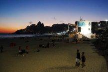 Playa Ipanema unas de las bellezas naturales de Río de janeiro