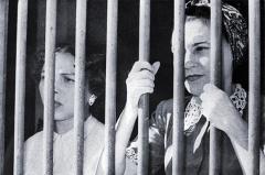 Melba y Haydée Santamaría después de los ataques a los cuarteles Moncada y Carlos Manuel de Céspedes