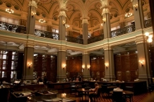 Sala de lectura de Obras Raras de la Biblioteca Nacional