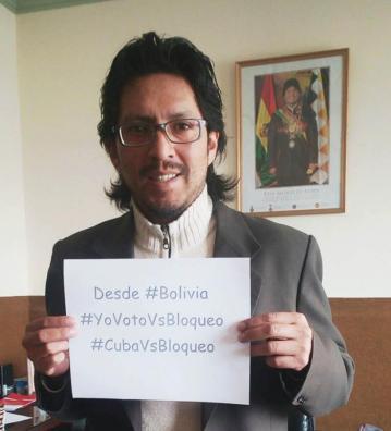 Desde Bolivia y diferentes partes del mundo llegan los mensajes de apoyo al pueblo cubano