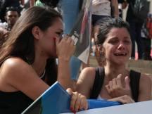 Jóvenes cubanos lloran la pérdida del líder histórico de la Revolución Cubana