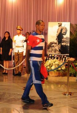 Homenaje póstumo del pueblo de Cuba a Fidel