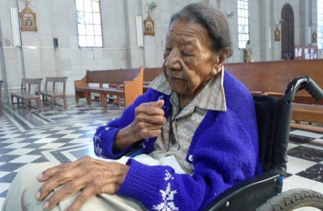 María Emilia Quesada Blanco reside en la ciudad de Cienfuegos y, a sus 116 años, es una de las personas vivas más longevas del mundo. / Foto: Roberto Alfonso