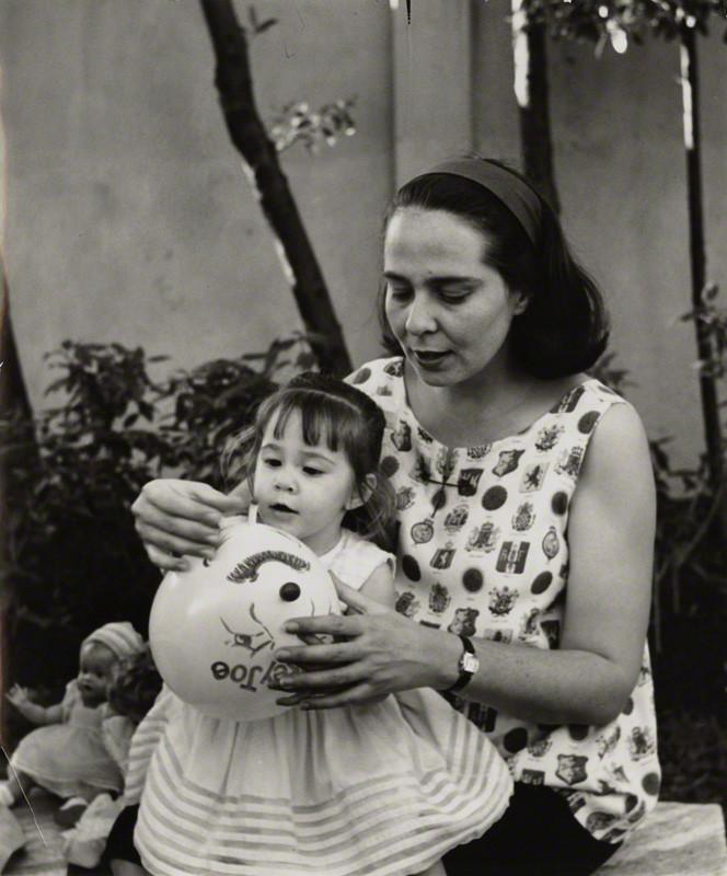 NPG x132297; Mariela Castro EspÌn; Vilma EspÌn Guillois by Ida Kar