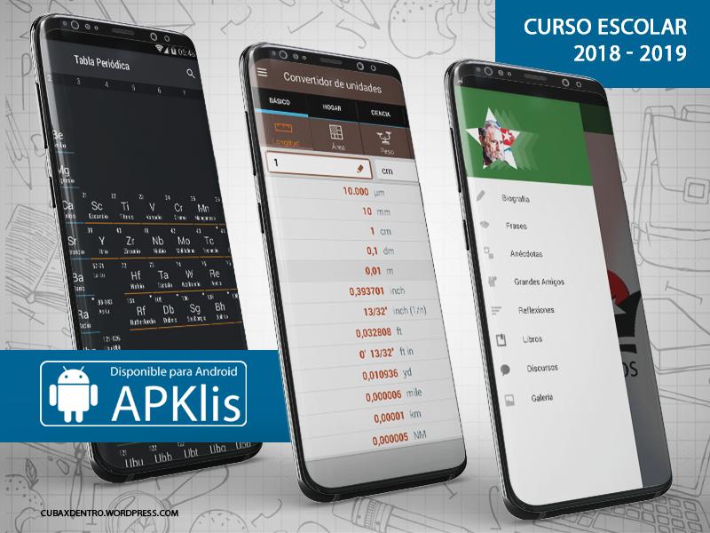 APKlis posee varias aplicaciones para estudiantes de todas las edades.
