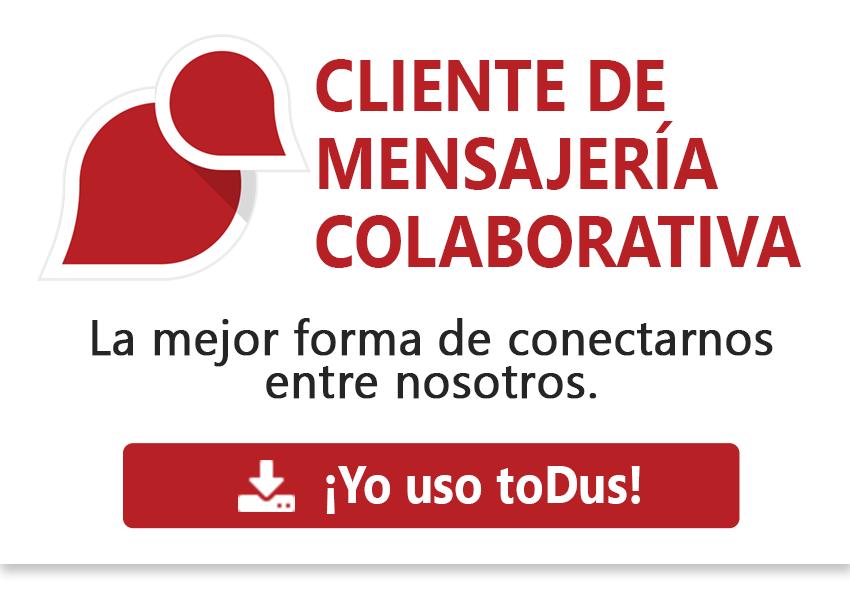 toDus - Cliente de mensajería colaborativa